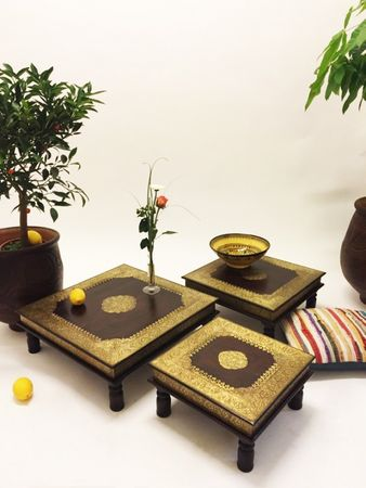 Oriental Coffee tables Zarina - Set of 3 – image 2