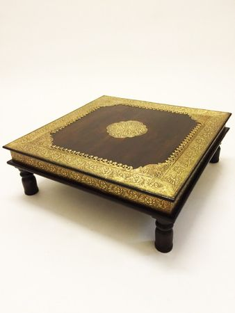 Oriental coffee table Zarina - Large, 60cm – image 1