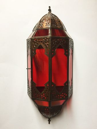 Oriental Wall Light Asha - Red – image 6