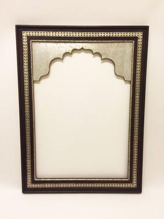 Oriental Mirror Frame Gobal - Silver, 120cm – image 1