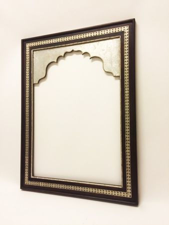 Oriental Mirror Frame Gobal - Silver, 120cm – image 2