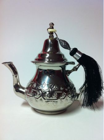 Oriental moroccan Teapot Andalous middle – image 2