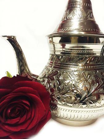 Oriental moroccan Teapot Bejan silvercolored - 350ml – image 4