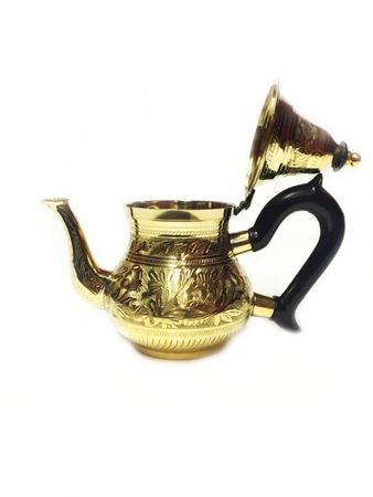 Oriental moroccan Teapot Bejan gold colored- 350ml – image 2