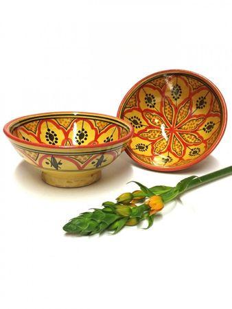 Moroccan Ceramic Bowl Amoda - 15cm - – image 6