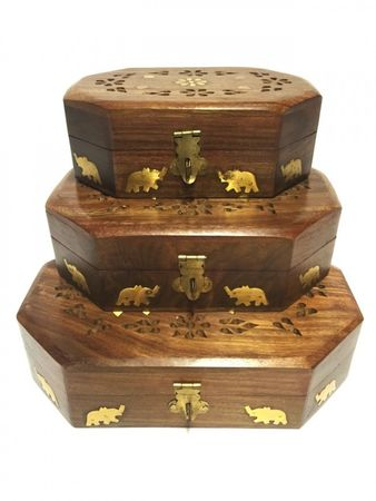 3x Oriental Boxes Didar - Set of 3 – image 2