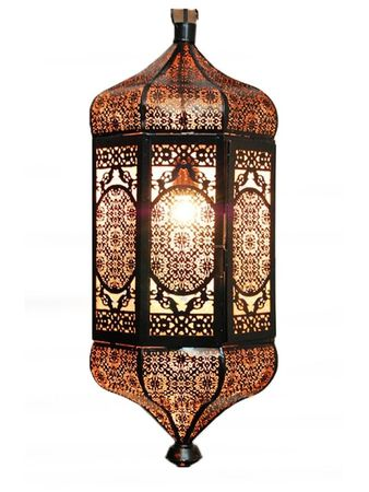 Oriental Ceiling Lamp Aybike Black- XL 62cm -