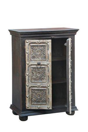 Indian Vintage commode Cansin - 85cm – image 2