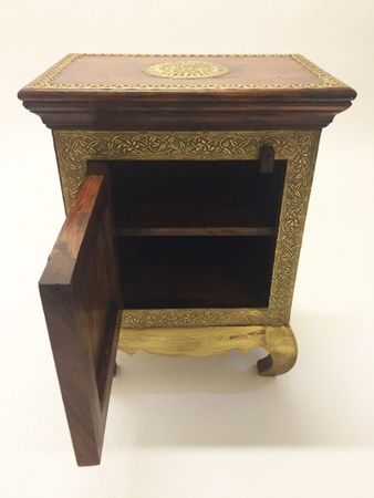 Indian Bedside Table Kalpana – image 3