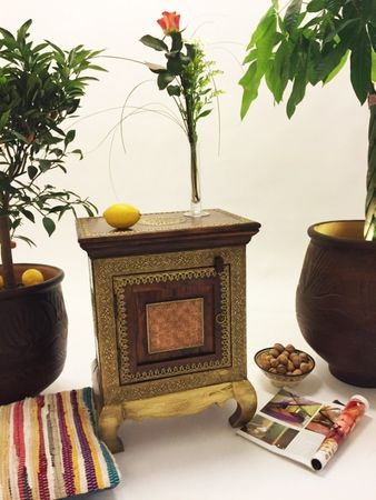 Indian Bedside Table Kalpana – image 5