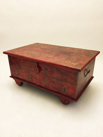 Oriental Coffee Table/Chest Murali - 110cm – image 1