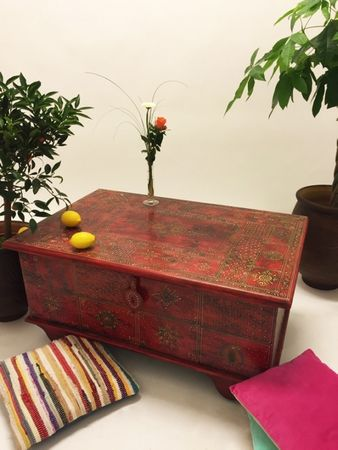 Oriental Coffee Table/Chest Murali - 110cm – image 5