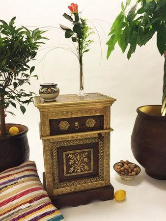 Indian Bedside Table Gowri – image 6