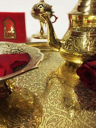 Arabic Tray Ajanta - Gold, 36cm – image 6