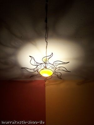 Ceiling Light Sonne yellow – image 4