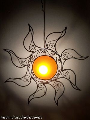 Ceilimg Lamp Sonne orange – image 2