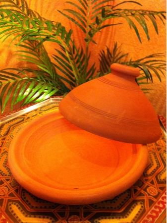 Set of 2, Moroccan Tajine Tuareg - 26cm and Tajine spice mix, 50g – image 2
