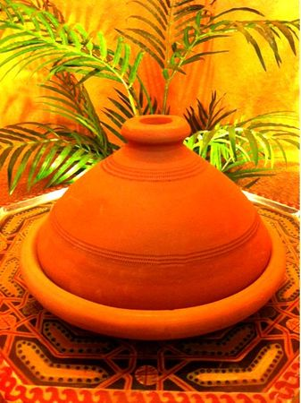 Set of 2, Moroccan Tajine Tuareg - 26cm and Tajine spice mix, 50g – image 5