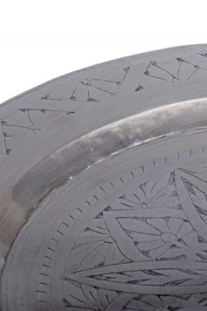 Oriental Silver Tray Khaliq - 48cm – image 4