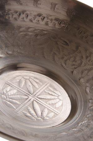 Oriental Indian Alumenium Bowl Melih - 30cm – image 1