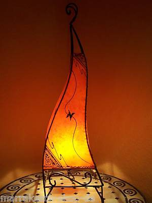 Floor Lamp Marrakesch orange 80cm – image 1