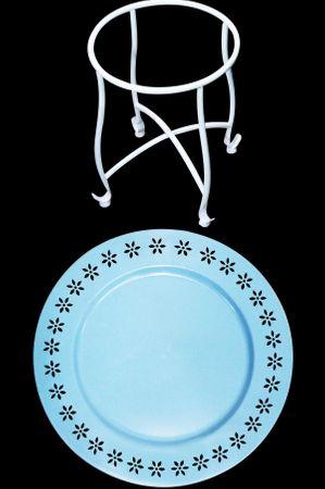 Oriental Table Samia blue- 41cm – image 3