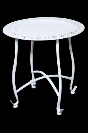 Oriental Table Samia white - 41cm – image 1
