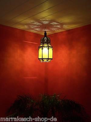 Oriental Lantern Haifa yellow 40cm – image 6