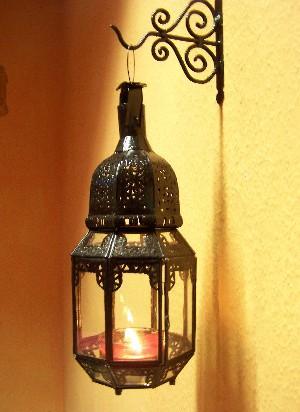 Oriental Lantern Haifa Clear 40cm