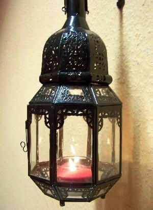 Oriental Lantern Haifa Clear 40cm – image 2