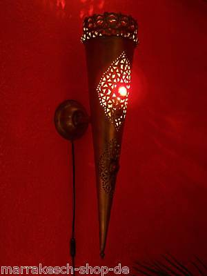 Oriental Wall Lamp Palast Red – image 1