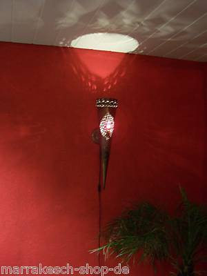 Oriental Wall Lamp Palast Red – image 2