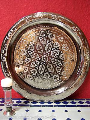 Oriental Tray Mehdia - Silver, 40cm – image 2