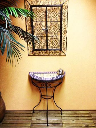 Mosaic console Marrakesch Nature/Blue – image 2