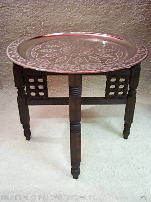 Oriental Table Mehdia - Silver, 60cm