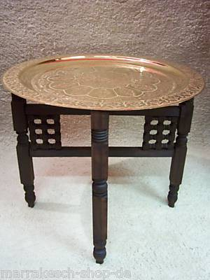 Oriental Table Mehdia - Gold, 60cm
