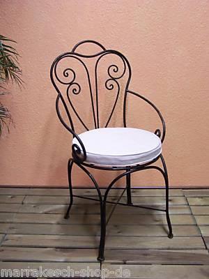 Oriental Iron Chair Marbella