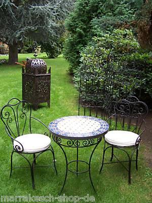 Oriental Iron Chair Marbella – image 5