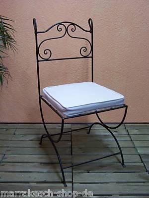 Oriental Iron Chair Malaga – image 1