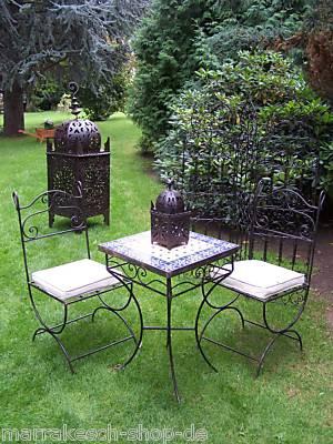 Oriental Iron Chair Malaga – image 2