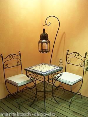 Oriental Iron Chair Malaga – image 3