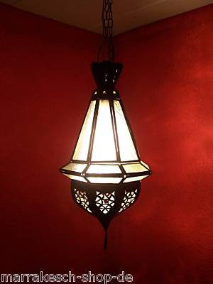 Oriental Ceiling Lamp Moulay white