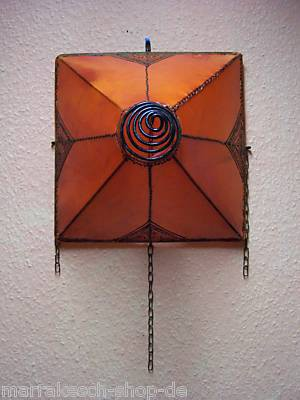 Mediterranean Wall Lamp Karima Orange – image 2