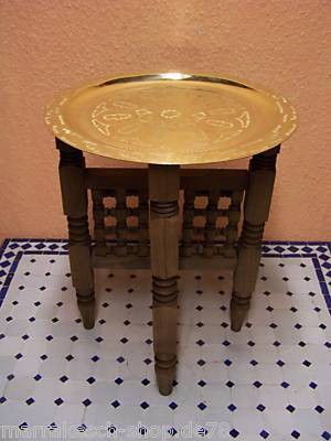 Oriental Table Mehdia - Gold, 40cm