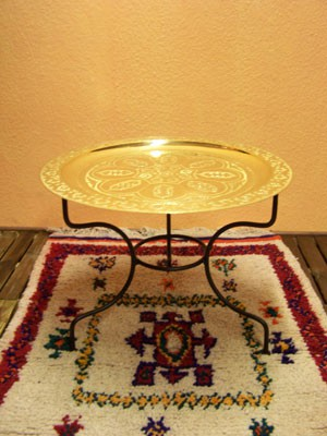 Oriental Table Gibraltar - Gold, 60cm – image 1
