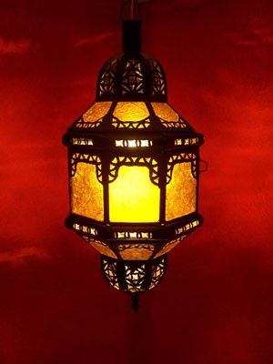 Orient Lamp Fula yellow – image 1