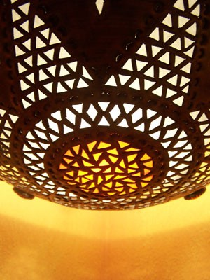 Oriental Ceiling Lamp Houda – image 3
