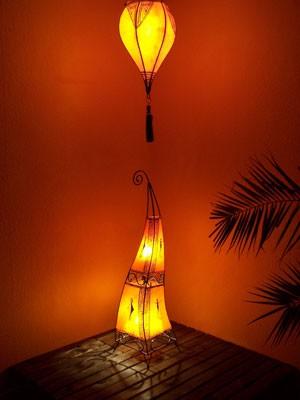 Floor Lamp Marrakesch orange 100cm – image 2