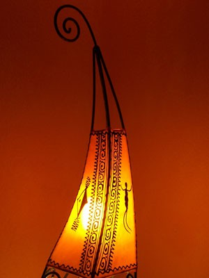 Floor Lamp Marrakesch orange 100cm – image 4