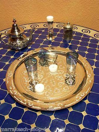 Oriental Table Gibraltar - Silver, 40cm – image 4
